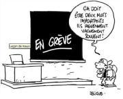 La grève dans les écoles, un casse-tête insoluble pour les parents !