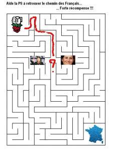 le labyrinthe du PS