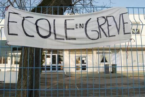 Ecole en Grève